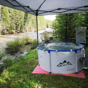 Camping Hot Tub Grey